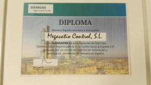 El diploma de ganador