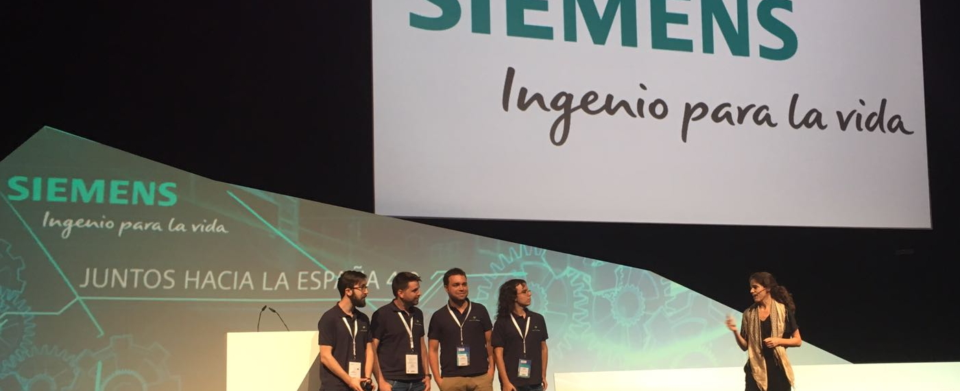 Green Energy Tracker ganador final startups SIEMENS